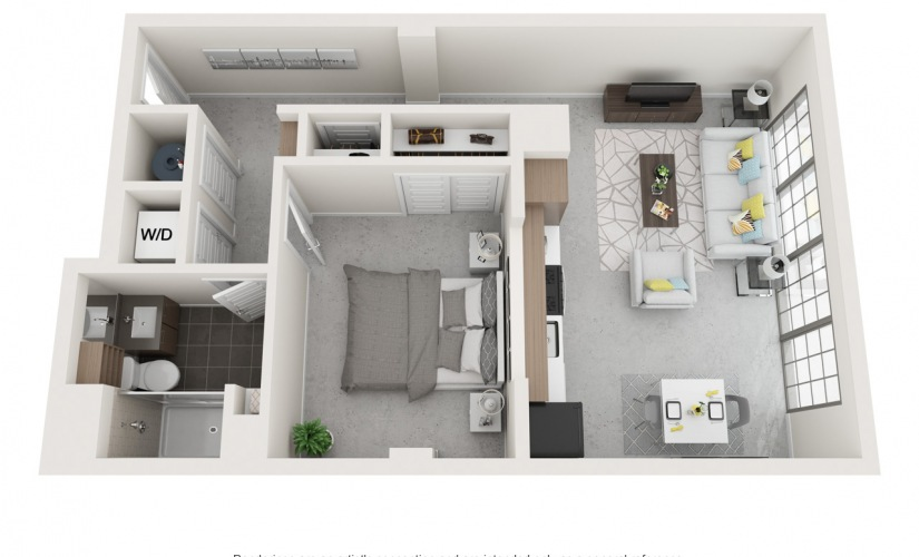 Studio 1 2 3 Bedroom Apartments For Rent At Flats At Ponce City Market,Wedding Decorations For Home
