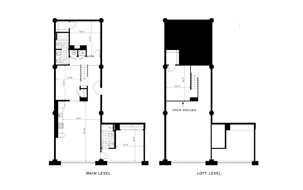 The Roebuck - 3 bedroom floorplan layout with 2 baths and 1790 square feet.